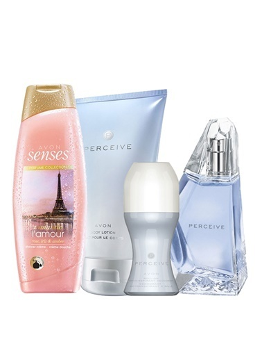 Avon Parceive Kadın Parfümlü Duş Jelli Paket Renksiz
